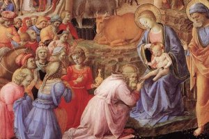 Fra Angelico, 'The Adoration of the Magi' (1445), National Gallery of Art, Washington