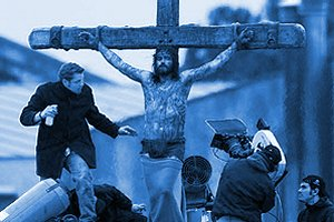 Filming of Mel Gibson's Movie 'The Passion of the Christ'